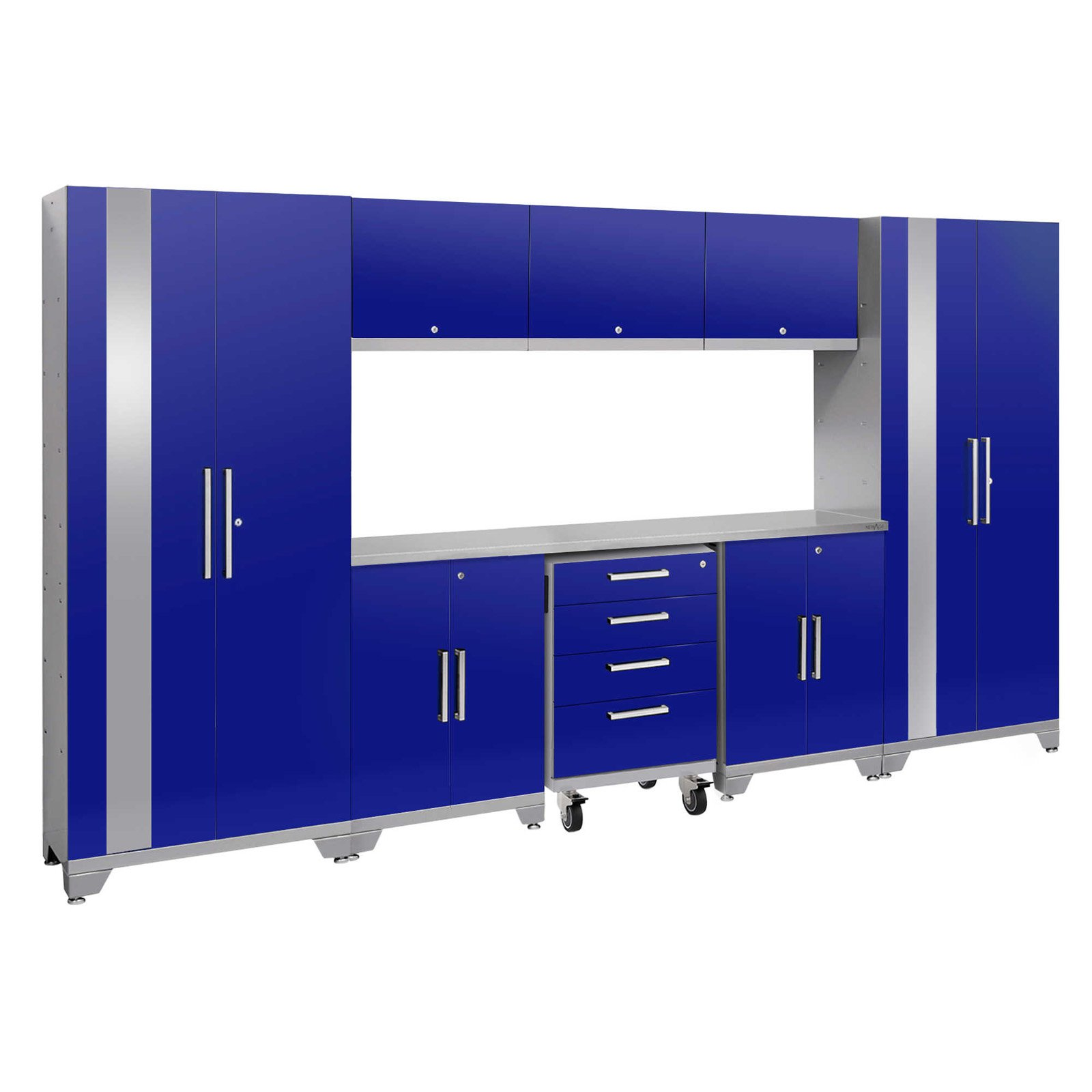 NewAge Products Performance 2.0 9 Piece Garage Cabinet System II