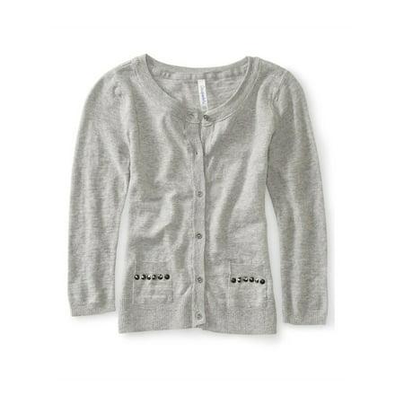 Aeropostale Juniors Studded Cardigan Sweater 052 S - Juniors