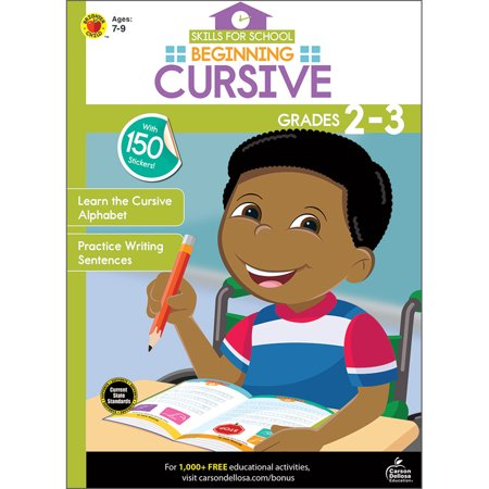 Beginning Cursive, Grades 2 - 3 (Halloween 2 Beginning Quote)