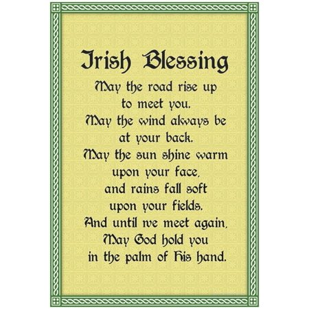 Irish Blessing Art Print Poster - 13x19