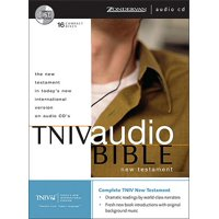 Today's New International Version on Audio CD - 16 CD Set - New Testament TNIV Bible Audiobook Plus Carrying Case