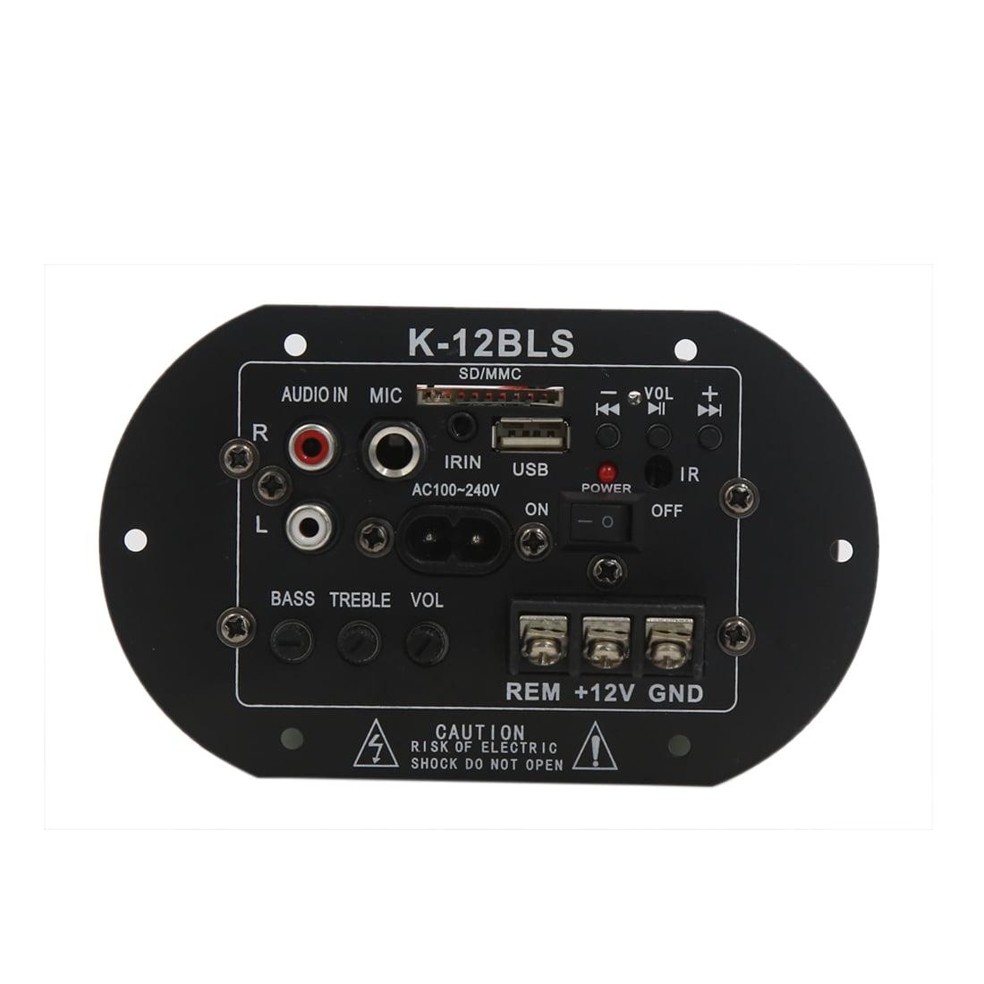 DC 12V Metal Audio Stereo Power Amplifier Board Module for Car Automobile - image 4 de 4