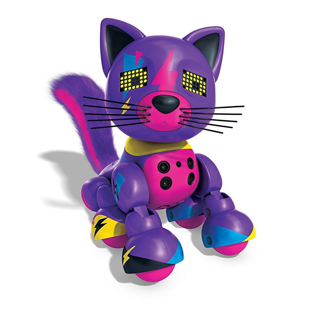 Zoomer Meowzies, Lucky, Interactive Kitten with Lights, S...