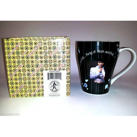 Elvis Presley 12 OZ Ceramic Coffee Mug with Gift Box Tea Love Me Tender Song Memorial Love Me - Gift Boxed Mug