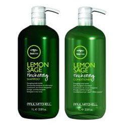 Paul Mitchell Lemon Sage Thickening Shampoo and Conditioner, 33.8 (Best Tea Tree Shampoo And Conditioner)