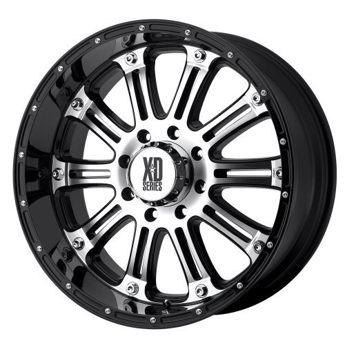 "XD-Series Hoss XD795 Gloss Black Machined Wheel (16x8""/8x..."