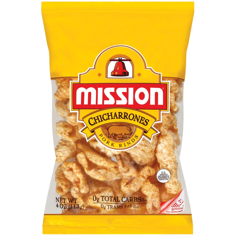 Mission® Chicharrones Pork Rinds 4 oz. Bag