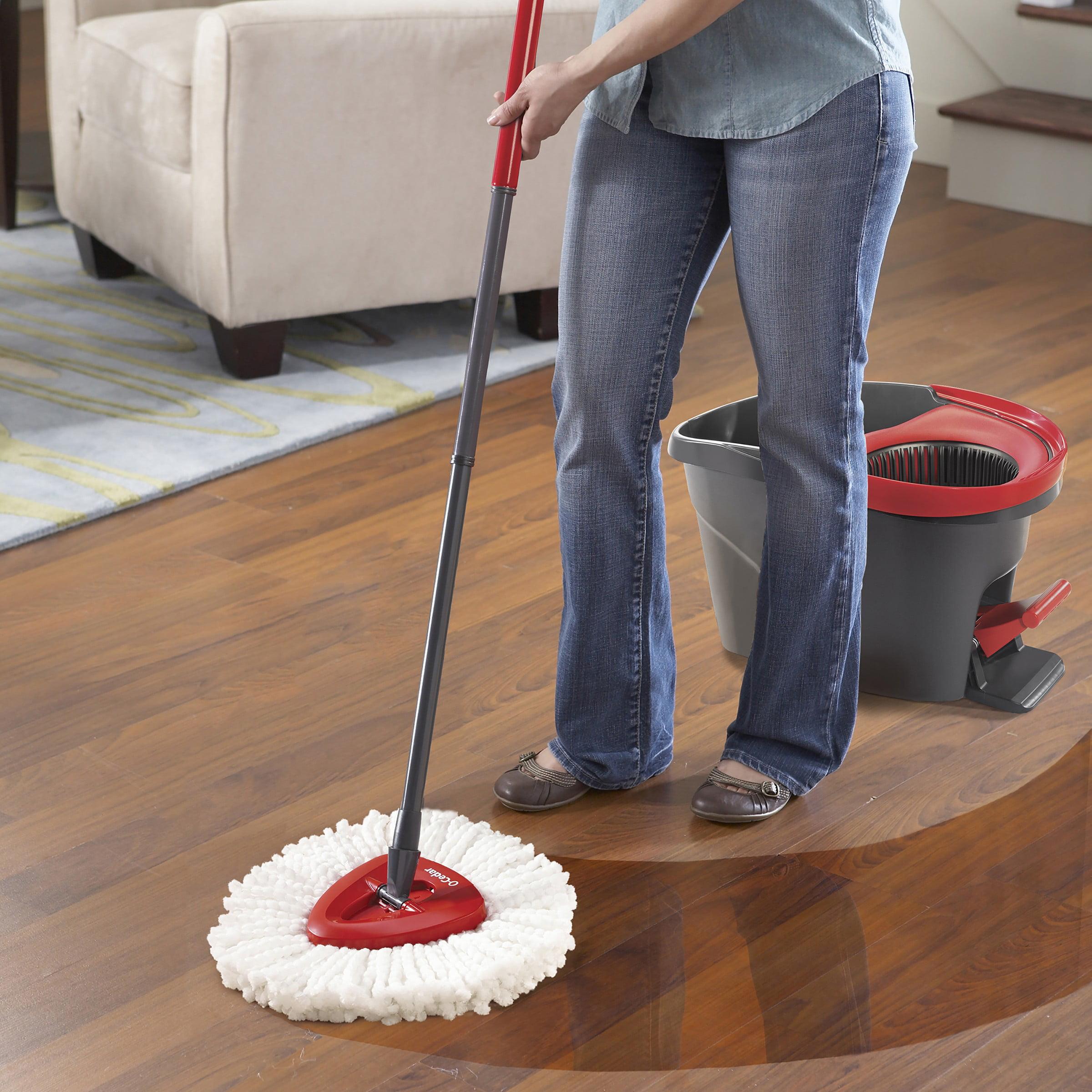 O Cedar Easywring Spin Mop Bucket System Walmart