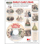 ScrapSMART Godey's Ladys Fashions Poster Collection CD-ROM, 1860s