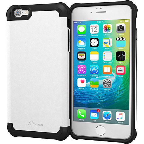 rooCASE Apple iPhone 6S / 6 Case - Exec Tough Pro Case Cover
