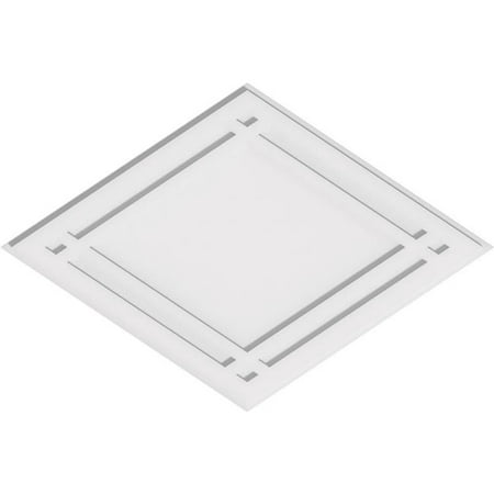 Ekena Millwork CMP36X24DD 24 x 36 in. Rectangle Diamond Architectural Grade PVC Contemporary Ceiling Medallion - image 1 de 1