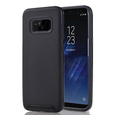 Samsung Galaxy S8 Full Body Hybrid TPU Dual Verus Hybrid Case Cover (Verus Case Note 3 Card)