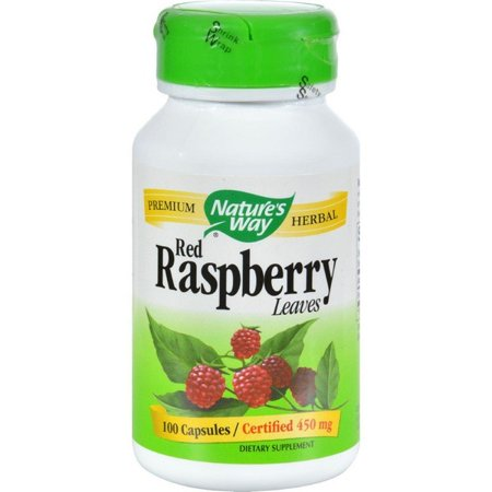 Nature's Way Red Raspberry Leaves - 100 (Way Red Raspberry)