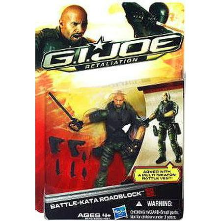 GI Joe Retaliation Battle Kata Roadblock Action Figure (Gi Joe Retaliation Roadblock)