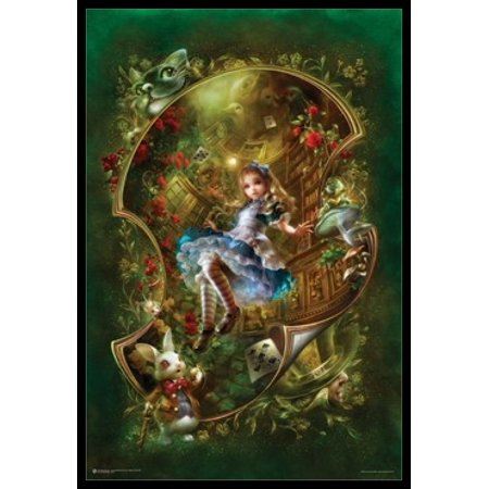 Alice In Wonderland Poster Poster Print - Alice In Wonderland Theme