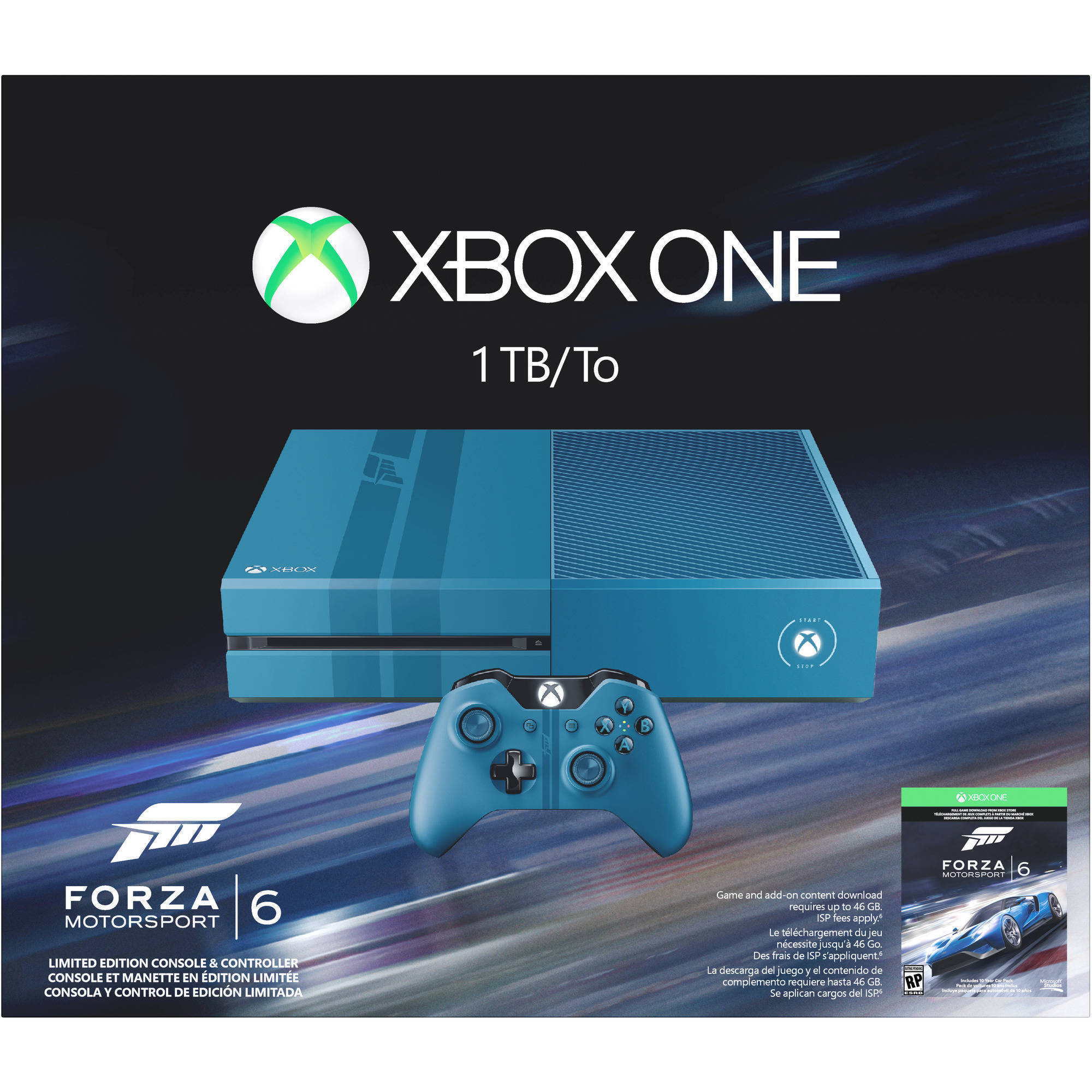 Xbox One 1TB Limited Edition Forza Motorsport 6 Bundle
