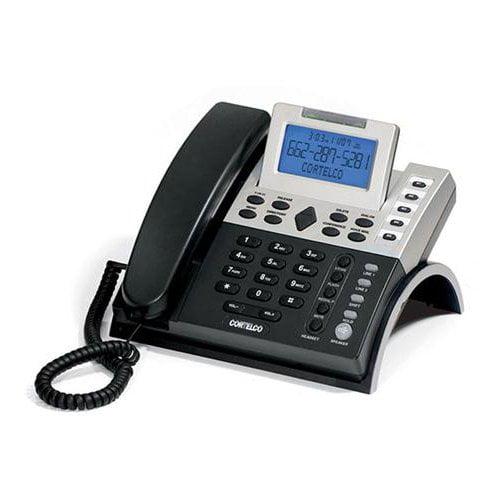 CORTELCO 122000TP227S 2-Line CID Business Tel. / ITT-1220 /