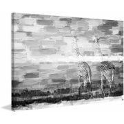 "Parvez Taj ""Giraffes"" Print on Canvas"