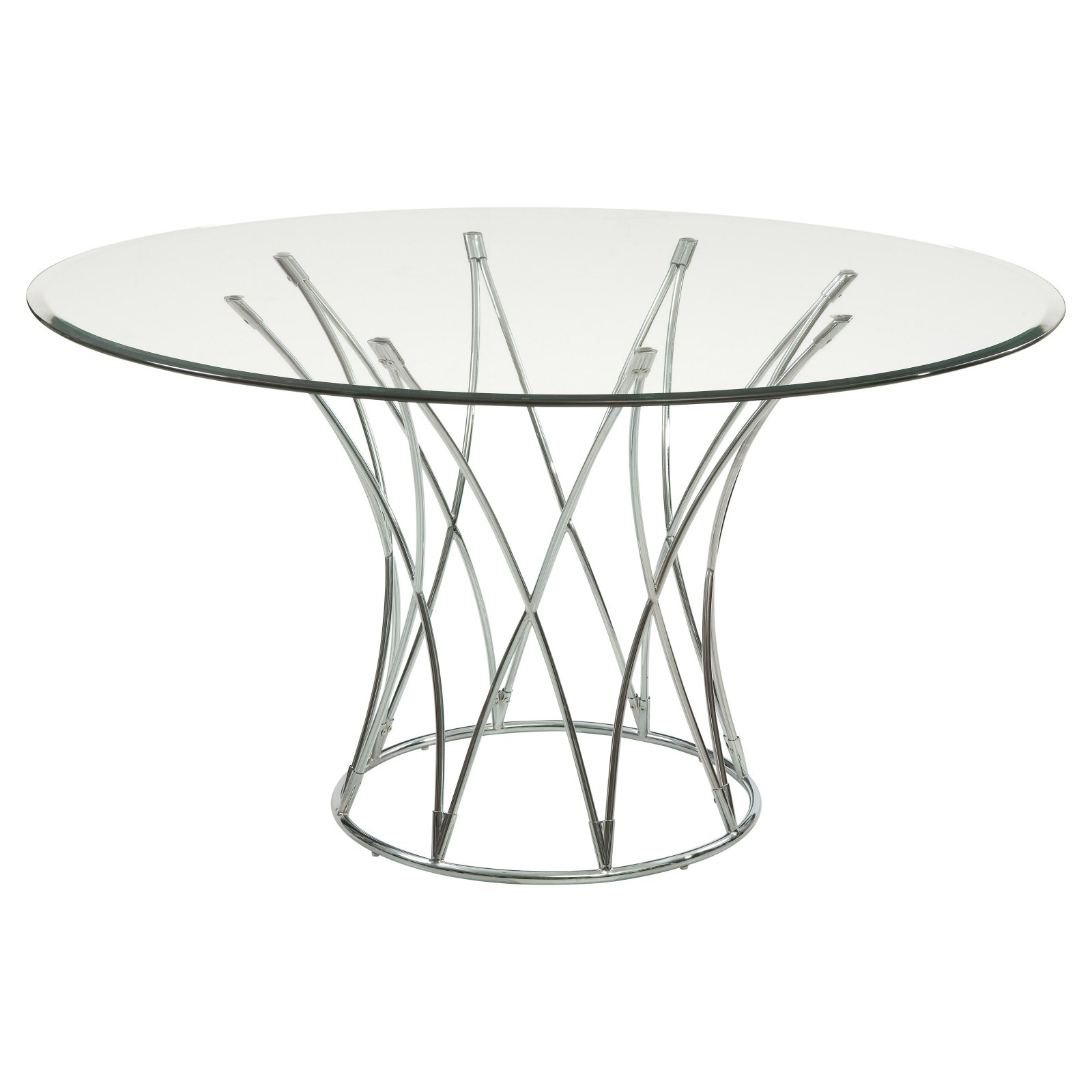 Bassett Mirror Mercer Contemporary Round Dining Table