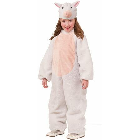 Boy's Christianity Biblical Nativity Scene Animal Sheep Costume Medium 8-10 - Child Nativity Costumes