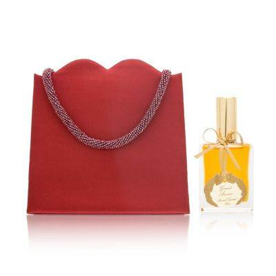 Oleg Cassini Satin (Annick Goutal Grand Amour for Women 1.0 oz Eau de Toilette Spray with Red Satin Bag )