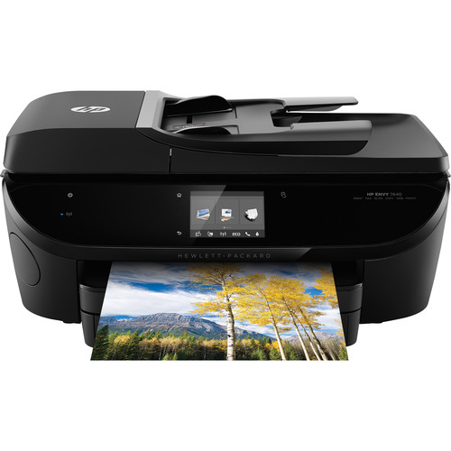 Hp Envy 7640 E All In One Printer Copier Scanner Fax Machine