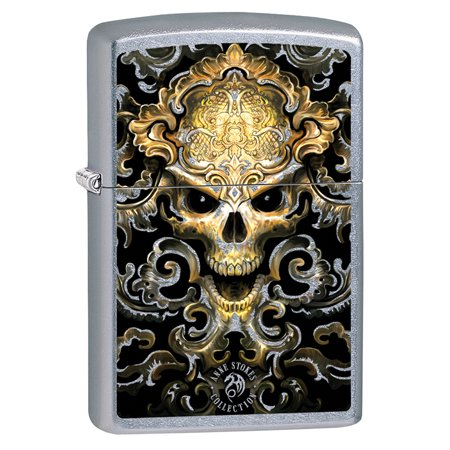 Zippo Lighter: Anne Stokes Skull Design - Street Chrome ... Zippo Lighter Skull Designs