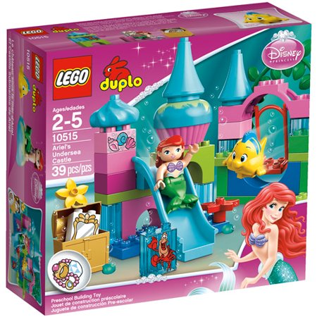 LEGO DUPLO Princess Ariel Undersea Castle Play Set