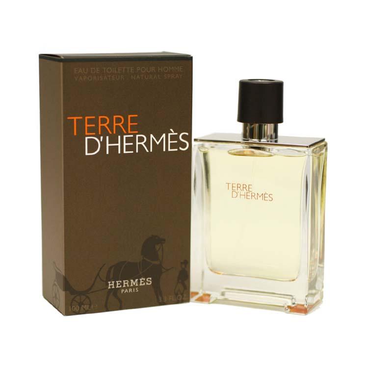 Terre D' Hermes Eau De Toilette Spray 3.3 Oz / 100 Ml