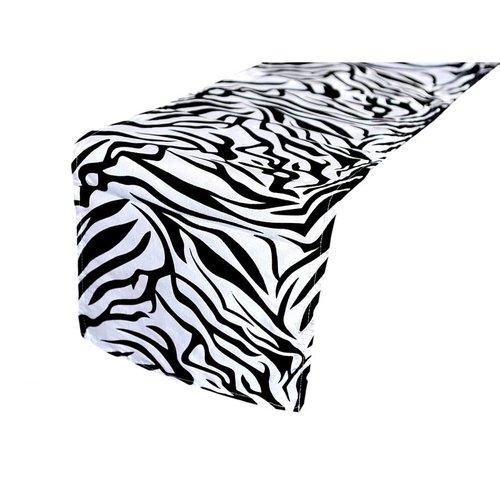 Zebra Safari Table Runner