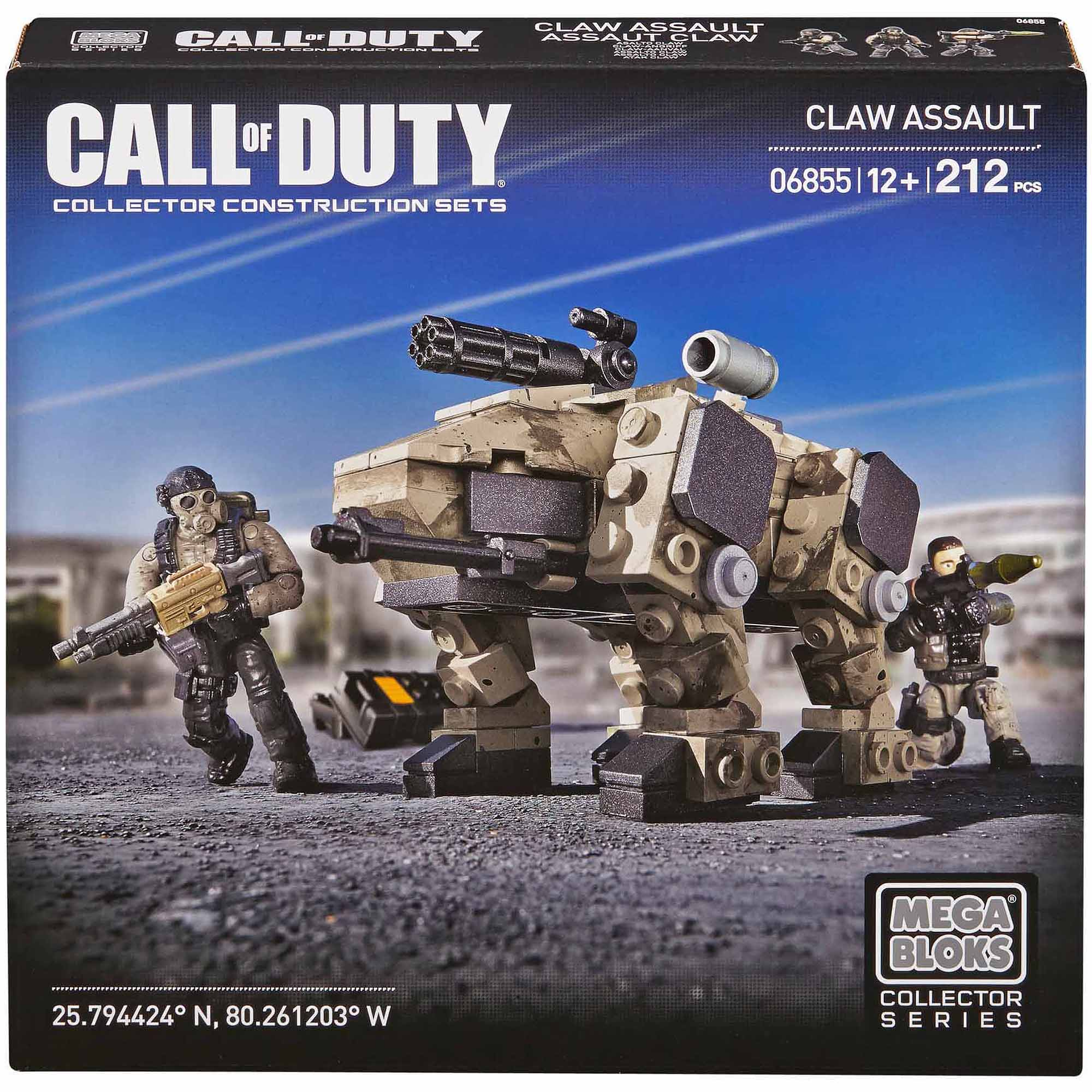 Mega Bloks Call Of Duty CLAW Assault