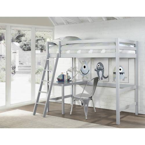 Hillsdale Caspian Twin Study Loft, Multiple Colors