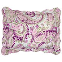 BrylaneHome  Paisley 3-Pc. Microfiber Quilt Set