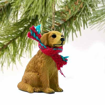 Conversation Concepts Golden Retriever Miniature Dog Ornament