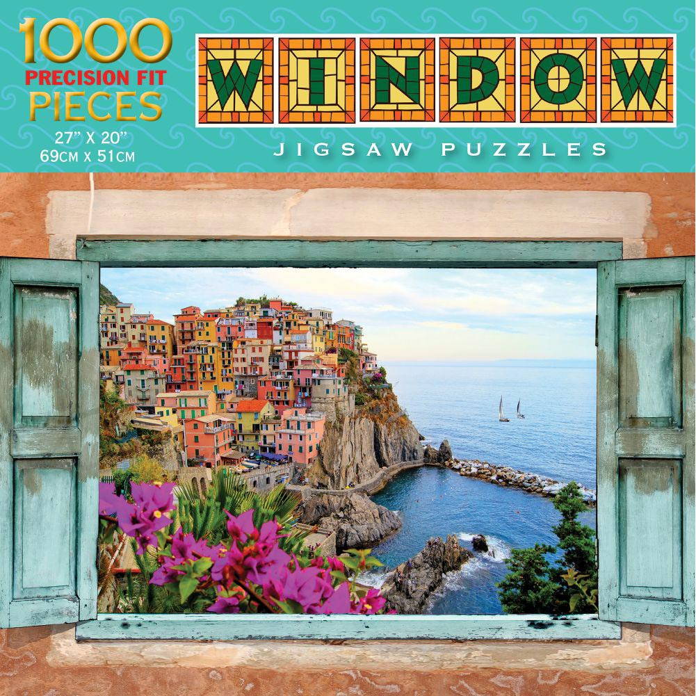 Mediterranean Magic 1000 Piece Puzzle,  Italy by Luv-It Puzzles