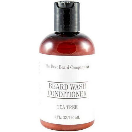 The Best Beard Company Tea Tree Beard Wash Conditioner, 4 fl