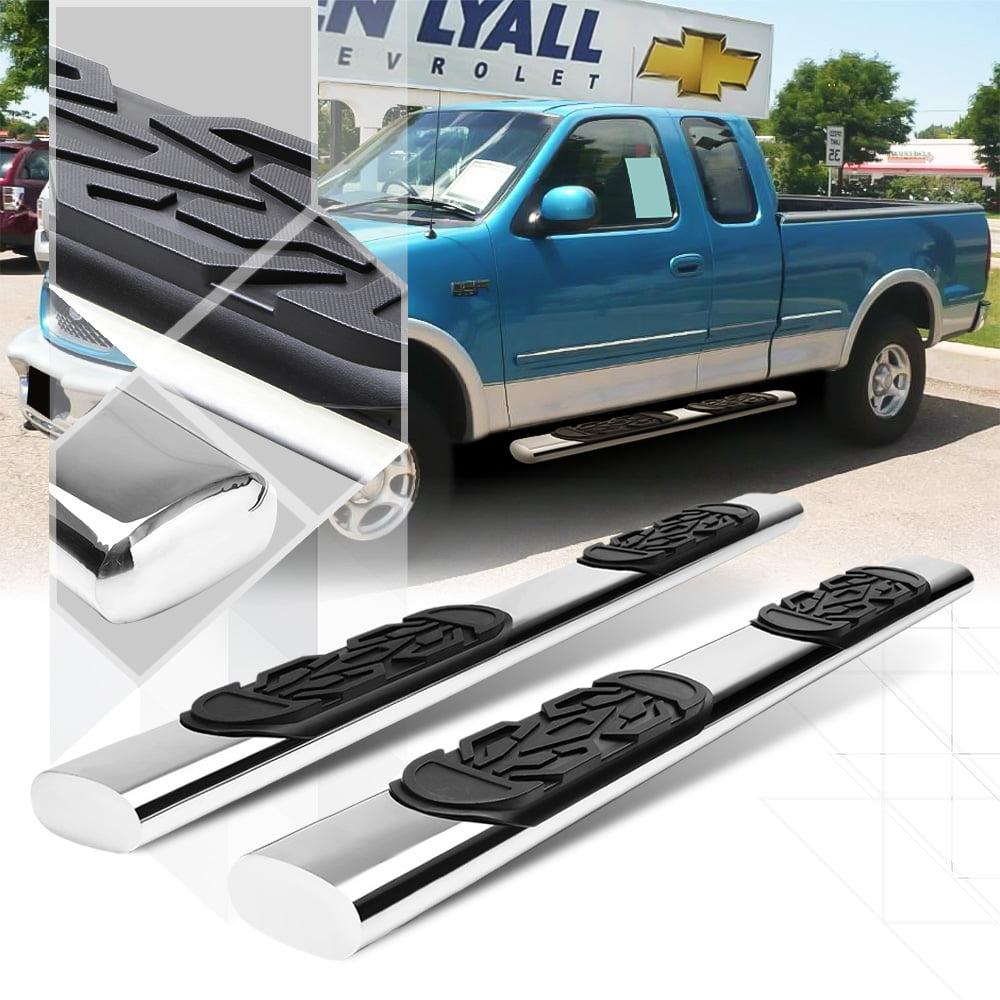 "Chrome 6"" Oval Side Step Nerf Bar for 97-03 F150/F250 Light Duty Super/Ext Cab 98 99 00 01 02"