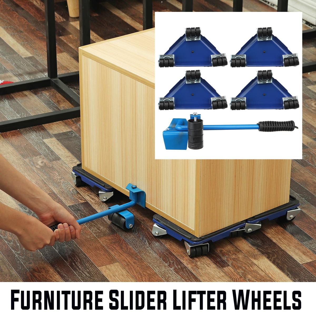 CHIFAN Easy Move Furniture Transport Set 360 Degree Rotatable Furniture Slides 250Kg Capacity