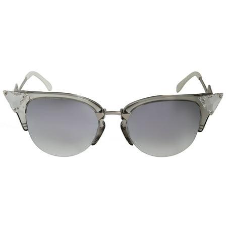 Fendi Iridia Cat Eye Sunglasses FF0041S 27C FU (Fendi Cat Eye Sunglasses)