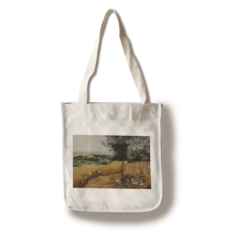 The Harvesters - Masterpiece Classic - Artist: Pieter Bruegel the Elder c. 1565 (100% Cotton Tote Bag -
