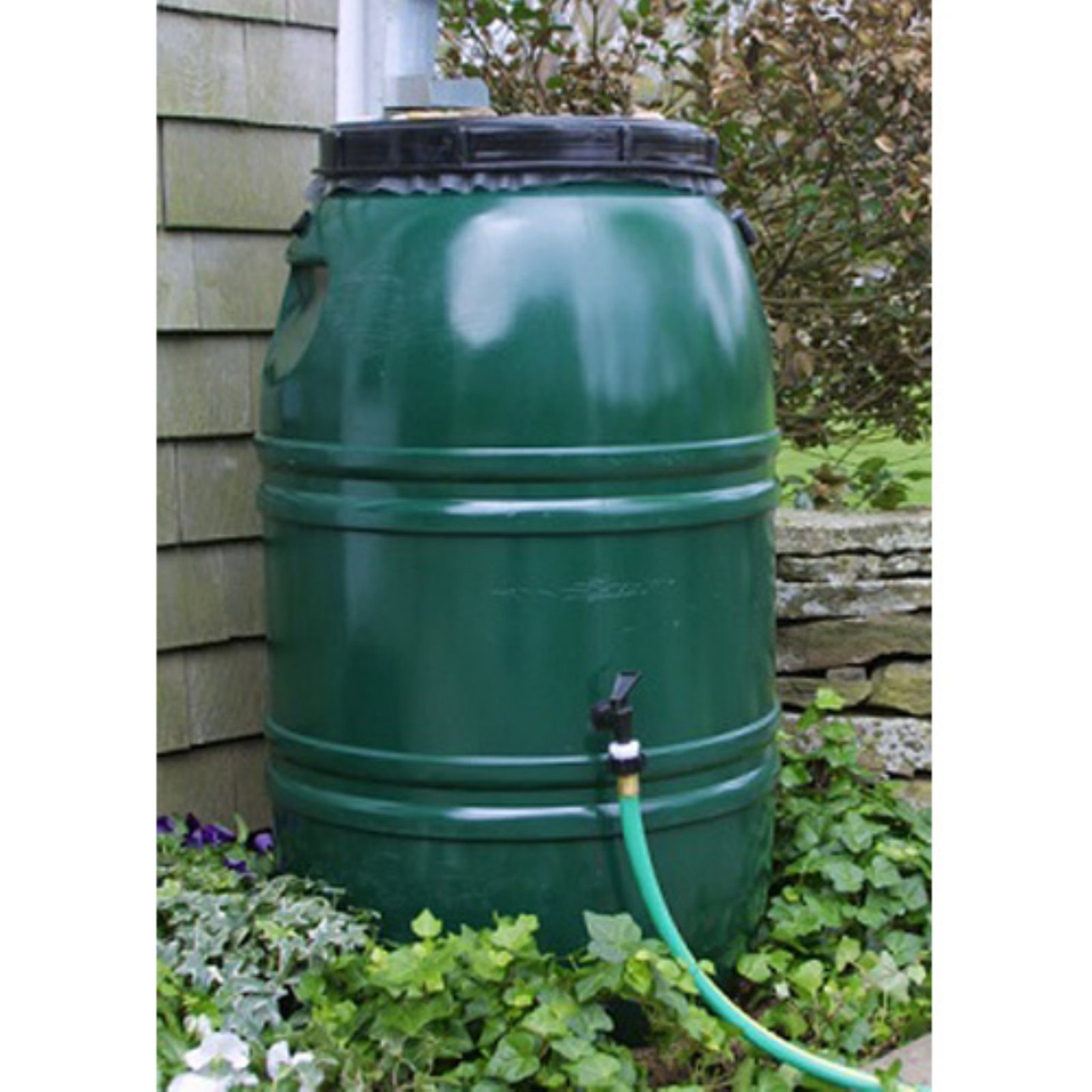 Great American 60 Gallon Rain Barrel with Small Diverter