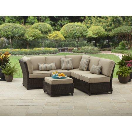 better homes and gardens cadence wicker 3 piece outdoor With cadence wicker 3 piece outdoor sectional sofa set
