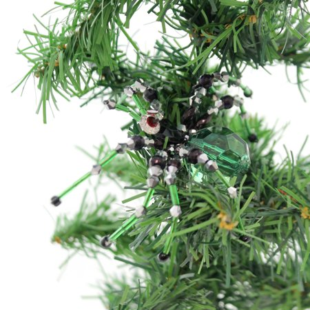 Halloween WITCH CABUCHON SPIDER CLIP-ON ORNAMENT Plastic Spooky