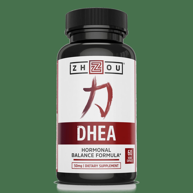 Zhou Nutrition DHEA Capsules, 60 Ct