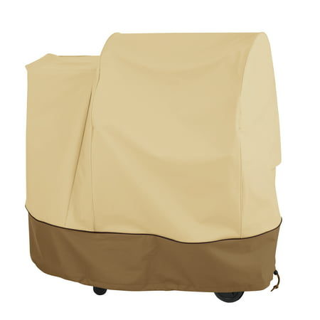 Classic Accessories Veranda™ Pellet Grill Cover - Durable BBQ Cover with Heavy-Duty Weather Resistant Fabric, Medium (55-969-031501-00)