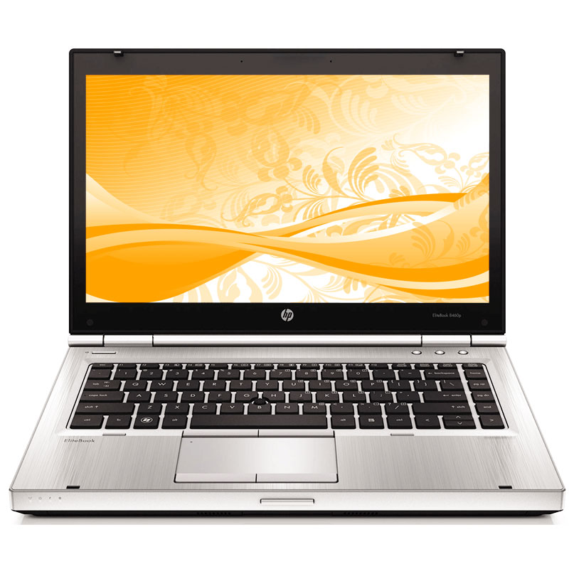 Off Lease REFURBISHED HP EliteBook 8460p 2.5GHz Ci5 8GB 320GB DVD Win 7