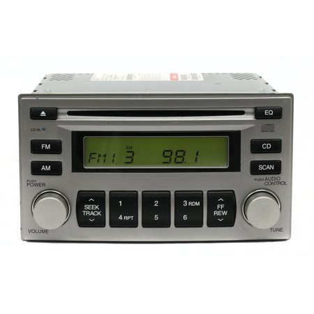2006-2008 Kia Rio AM FM Radio CD Player Part Number 96100-1G488PH Opt. Code M445 - Refurbished
