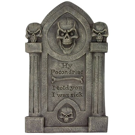 Hy Pocondriac Tombstone](Tombstone Epitaphs For Halloween)