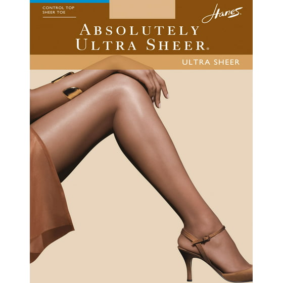 f001dea73 Hanes - Absolutely Ultra Sheer Control Top Sheer Toe Pantyhose 707 ...