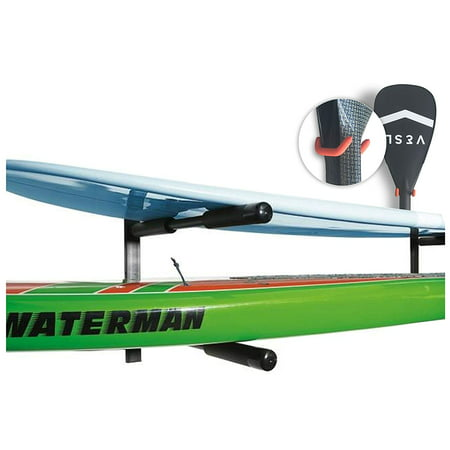 - Cor Surf | 2 Boards Double SUP | Surfboard | Paddle Board Wall Rack | Heavy Duty Mount | Free Paddle Hook Included